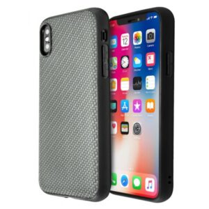 Guardian Woven Pattern Case for iPhone X / XS (Black)